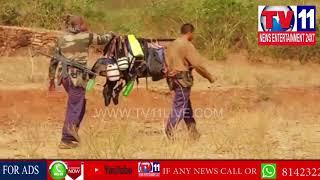 FIRING BETWEEN POLICE AND MAOIST AT ANDHRA ORISSA BORDER   Tv11 News   26-03-2018