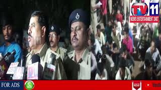 POLICE CONDUCT CORDON AND SEARCH OPERATION IN  HAKIMPET | Tv11 News | 28-03-2018