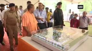 CM Yogi visits memorial of saint-poet Kabir ahead of PM Modi's visit