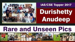 Anudeep Durishetty (IAS Topper 2017) Rare and Unseen Pics | Formula UPSC