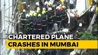 Ghatkopar plane crash : visuals after crash LIVE