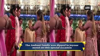 Akash Ambani, fiance Shloka celebrate pre-engagement ceremony with family and friends