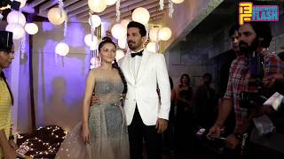 Live: Rubina Dilaik - Abhinav Shukla GRAND Entry At Wedding Reception In Mumbai