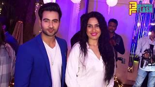 Nia Sharma At Rubina - Abhinav Wedding Reception In Mumbai