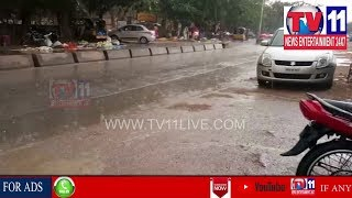 HEAVY RAINFALL IN HYDERABAD CITY  | Tv11 News | 02-04-2018