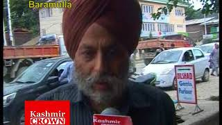Poor Drainage System Causes Problems To Common Public In Baramulla (Video Report By Rezwan Mir)