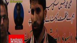 Rahul Gandhi Fans Association One Day Convention at Hotel Lalarukh Srinagar(Sujah Baqal)