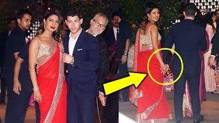 Priyank Chopra With Bf Nick Jonas At Mukesh Ambani's Son Akash Ambani's Pre Engagement Party