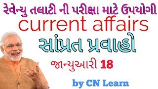 Talati current affairs | current affairs in Gujarati | current affairs for Revenue Talati exam