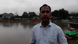 Flood Threats:Flood Like Situation In South Kashmir.