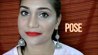 How I Do A Lip Swatch Video | Time Lapse | Uncut | Nidhi Katiyar