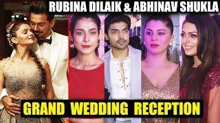 Watch Rubina Dilaik Abhinav Shukla GRAND Wedding Recepti    (video id -  341b9c9b7d38cd) video - Veblr Mobile