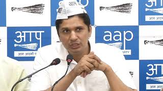 AAP Chief Spokesperson Demands that now Central Govt should Stop Cutting of trees in Delhi