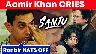 Aamir Khan CRIES after Watching SANJU, Rabnir Kapoor HATS OFF