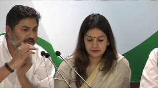 Money of Indians in Swiss banks rise: AICC Press Briefing By Priyanka Chaturvedi and Gaurav Vallabh