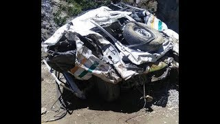 Five dead, three injured after cab plunges into gorge in Bandipora