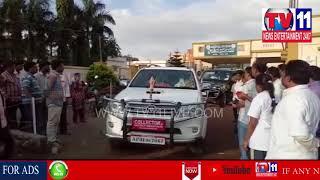 VISAKHA COLLECTOR PRAVEEN KUMAR VISITS CHC IN ARUKU VALLEY | Tv11 News | 30-06-18