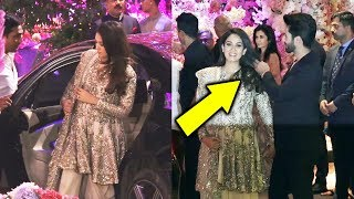 Shahid Kapoor Taking Care Of Pregnant Wife Mira At Ambani Engagement PArty'