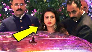 Rani Mukerji At Mukesh Ambani's Son Akash Ambani's Engagement Ceremony