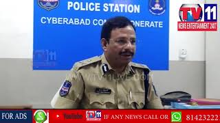 CYBERABAD CP SAJJANAR SUDDEN VISIT TO BALANAGAR PS,HYDERABAD |Tv11 News |19-04-2018