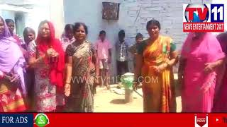 PEOPLE FACING  WATER PROBLEMS IN KODANGAL , VIKARABAD DIST | Tv11 News | 25-04-2018