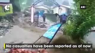 Cloudburst hits Uttarakhand's Munsiari