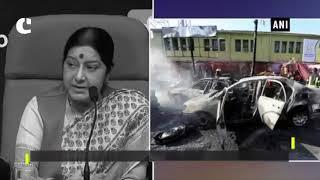 PM Modi, EAM Sushma Swaraj condemn blast targeting Sikh community in Afghanistan
