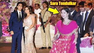 Aryan Khan And Sachin Tendulkar's Daughter Sara At Ambani Grand Party