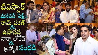 T Subbarami Reddy Grandson Anirudh Marriage Video | T Subbarami Reddy Grandson Wedding Video