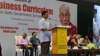 Delhi CM Arvind Kejriwal Launches Happiness Curriculum In Delhi Schools