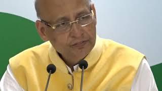 Highlights: AICC Press Briefing By Abhishek Manu Singhvi on Growing Instances of Mob Lynching