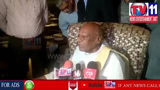 EX GOVERNOR ROSAIAH INAUGURATES LUCKNOW REICPES WEEKENDS IN MERCURE HOTEL | Tv11 News | 27-04-18