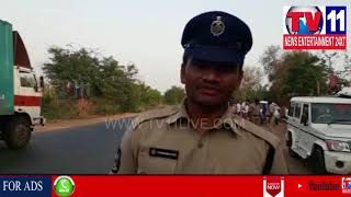 CONTAINER TRUCK HITS TOOFAN VEHICLE |7 DIED,4 INJURED IN PULLAMPET , KADAPA DIST |Tv11 News|29-04-18