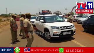 POLICE CONDUCT ROAD SAFETY WEEK IN MADGI , ZAHIRABAD | Tv11 News | 30-04-2018