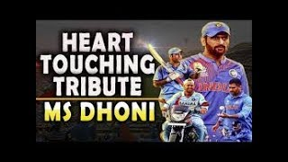 √ Tribute to Ms Dhoni || heart touching video || u must watch..|√   Happy Birthday Dhoni....