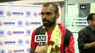 Champions Trophy runners-up Indian hockey team receives warm welcome at Bengaluru Airport