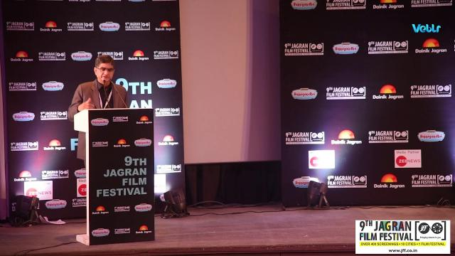 CK Sharma Business Head, DS Group Speech At Inauguration Ceremony Of 9th Jagran Film Festival Delhi