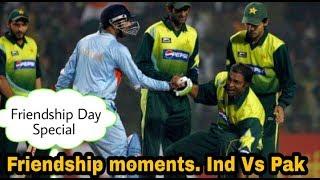Top 5 Friendship Moments Of India Vs Pakistan.