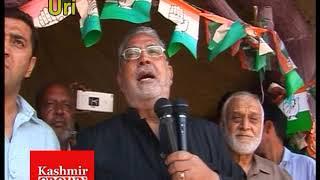 Senier Congress Leader & Former Minister Taj Mohideen Visited Uri( Report By Rezwan & Nadeem)