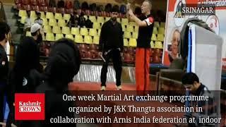 Martial Art exchange programme for 1 week in Srinagar