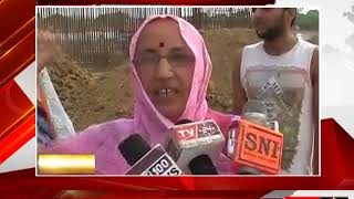 मिर्ज़ापुर - रेलवे द्वारा कम मुआवज़ा मिलने पर रोष  - tv24