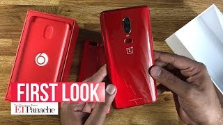 OnePlus 6 Red: Unboxing and first look | ETPanache