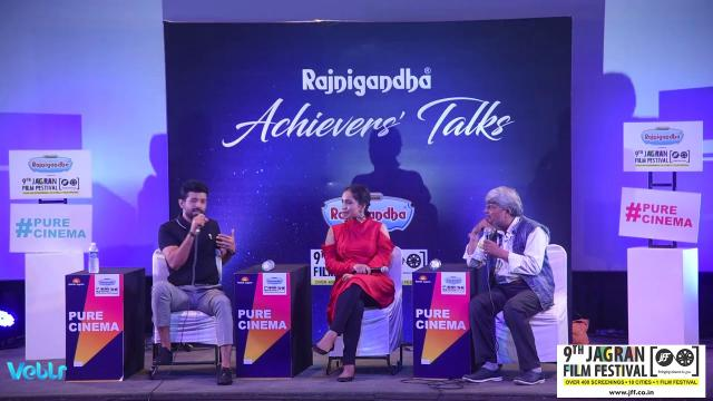 Achievers Talk With Actor Vineet singh And Actress Zoya Hussain At 9th Jagran Film Festival 2018