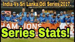 India Vs Sri Lanka Odi Series 2017, Series Stats