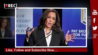 Kamala Harris sworn in as first Indian American senator and California's first black senator