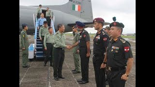 Visiting Chinese Army delegation reaches Sukna | Economic Times