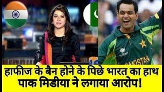 Pakistan Media On Mohammed Hafeez Suspended | Cricket News Today