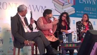 ZEE Jaipur Literature Festival Shashi Tharoor & Nandana Sen