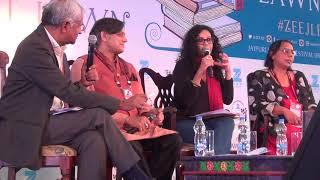 ZEE Jaipur Literature Festival Nandana Sen & Shashi Tharror