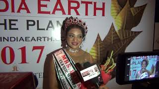 Mrs India Earth 2017 Interview